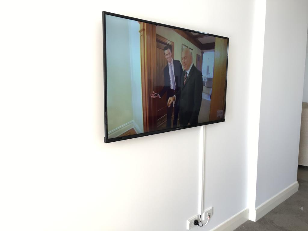 tv wall installation with capping in Farm Cove
